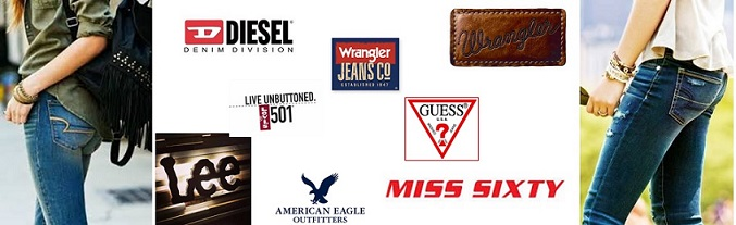 Complete List of Denim Jeans Brands