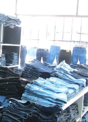 jeans export